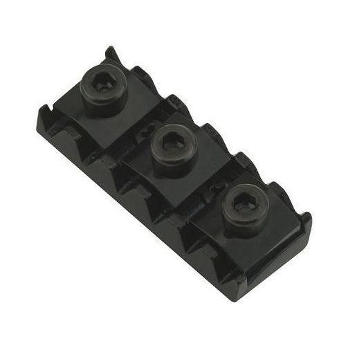nut r3, std spacing left 42,5-42,8 mm, radius 12, blokada strun, czarna marki Floyd rose