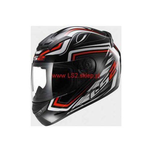 Kask motocyklowy kask ff352 rookie ranger black red marki Ls2
