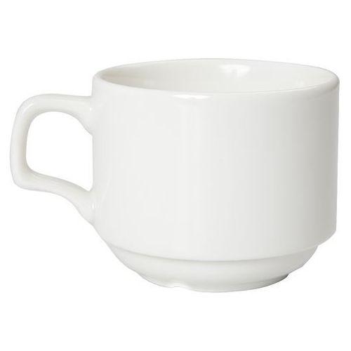 Filiżanka sztaplowana porcelanowa poj. 177 ml dove marki Porland