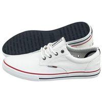 Tommy hilfiger Tenisówki tommy jeans textile sneaker em0em00001 100/white (th5-a)