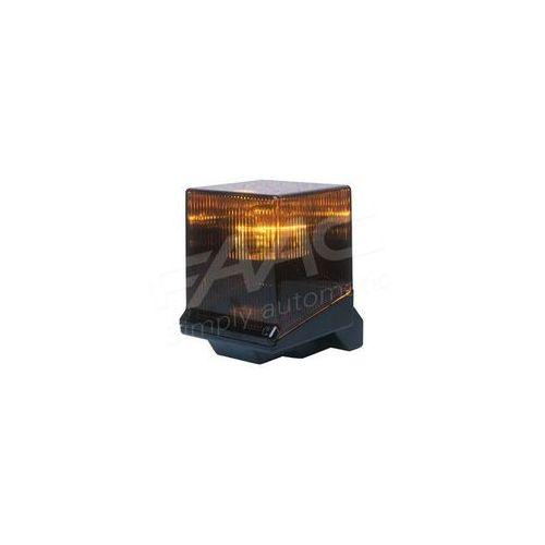 Faac 1.3 lampa z przyciemnianym kloszem pomarańczowym 230v