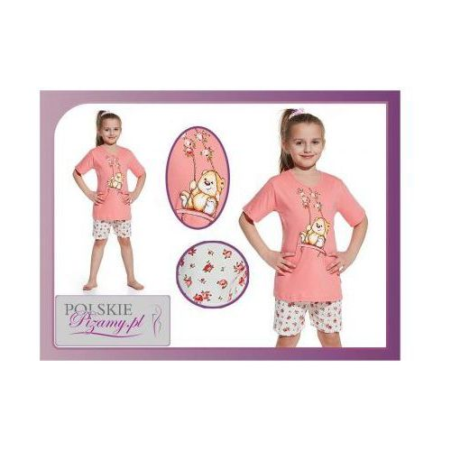 Piżama dziecięca WIOSNA: róż