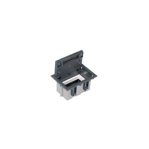 Puszka podłogowa 2 modułowa pogłębiana, SF110/1 + S66/9