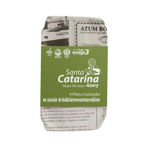 Santa catarina 120g/4szt filety z tuńczyka w sosie śródziemnomorskim marki Panegara