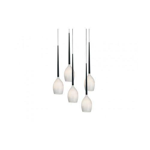 izza 5 az0311 md1288a-5w lampa wisząca zwis 5x40w e14 biała - negocjuj cenę marki Azzardo