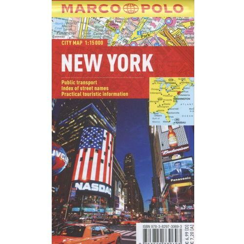 New York. City Map 1:15 000, Marco Polo