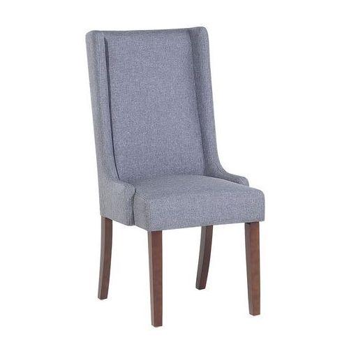 Krzesło do jadalni ciemnoszare CHAMBERS, kolor szary