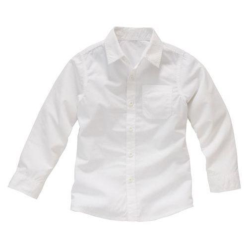 Klasyczna koszula chłopięca, wykonana z bawełny