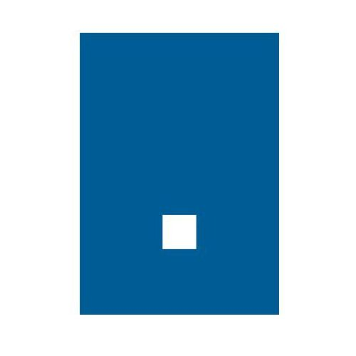 OKAZJA - Kropka (biały/niebieski) marki Top design
