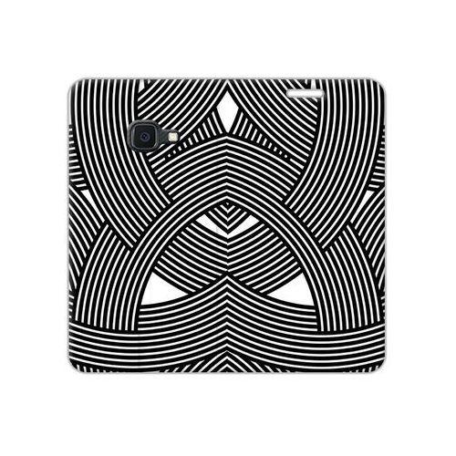 Samsung Galaxy Xcover 4S - etui na telefon Flex Book Fantastic - biało-czarna mozaika, kolor wielokolorowy