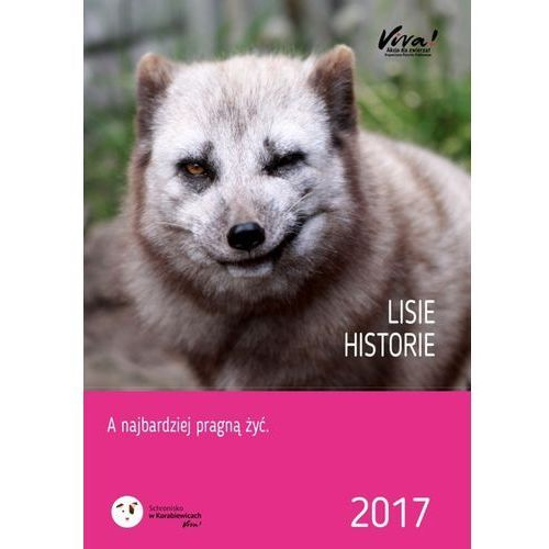 Kalendarz charytatywny 2017 - Lisie historie - produkt z kategorii- Kalendarze