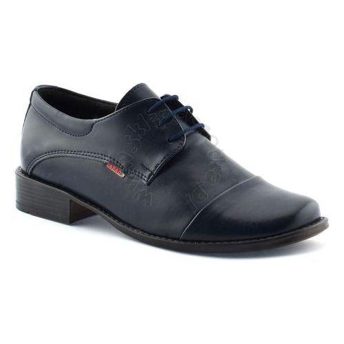 Buty komunijne dla chłopca Zarro 2073 - Granatowy