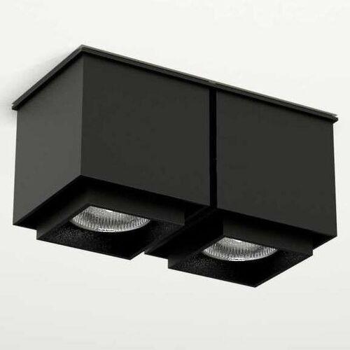 Lampa sufitowa kazo 1108 natynkowa oprawa reflektorowa czarny marki Shilo