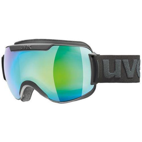 Uvex Gogle narciarskie downhill 2000 fm czarny/zielony mirror 550/115/2130