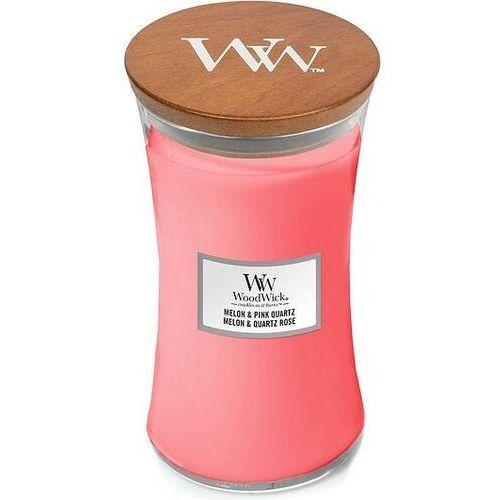 Woodwick Świeca core melon & pink quart duża (5038581113357)