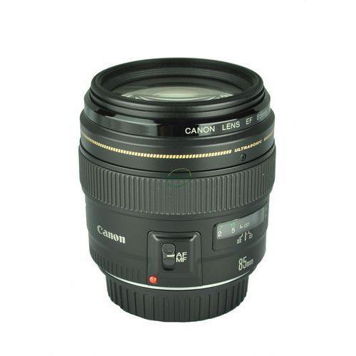 Obiektyw ef 85mm f/1.8 usm marki Canon