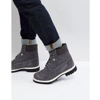 classic 6 inch suede boots - grey, Timberland