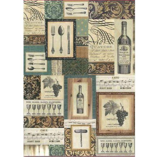 Papier klasyczny do decoupage 50x70 cm - 368 marki Stamperia