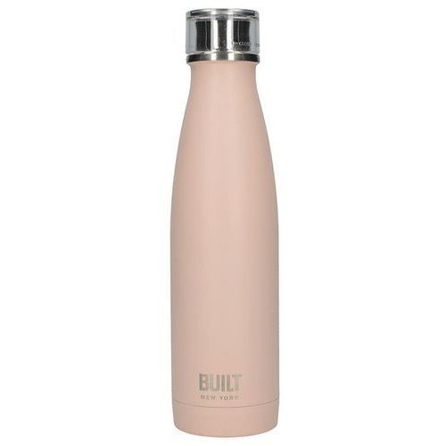 Built perfect seal vacuum insulated bottle stalowy termos próżniowy 0,5 l (pale pink)