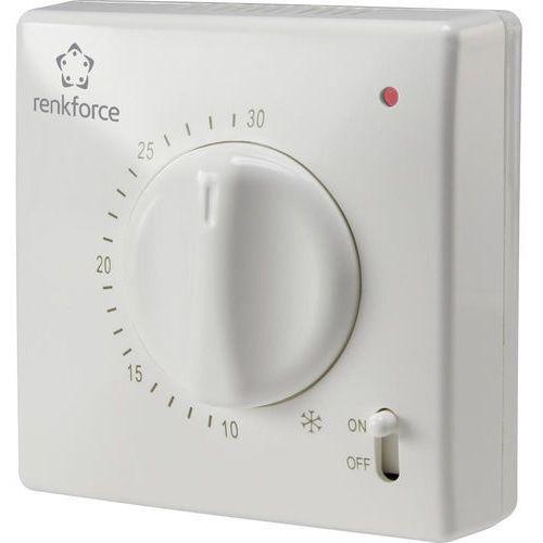 Termostat pokojowy Renkforce TR-93, Zakres regulacji temperatury: 5 do 30 °C (4016138970180)