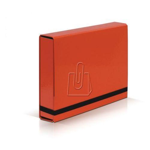Teczka szeroka VAUPE BOX 341 5cm z gumką - pomara.