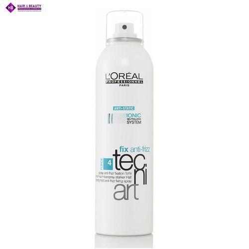 LOREAL Tecni Art Fix Anti-Frizz Spray Mocno Utrwalający 400 ml (3474630077157)