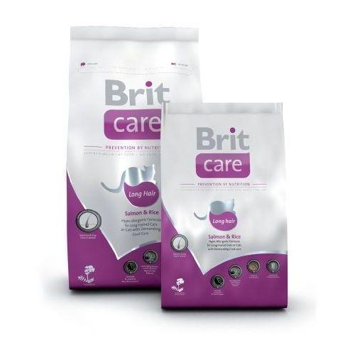 Brit care cat long hair salmon karma dla kotów
