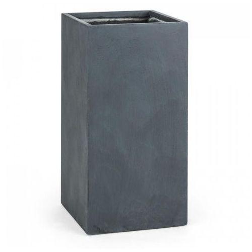 solidflor doniczka/pojemnik na rośliny 40x80x40 cm fiberton antracyt marki Blumfeldt
