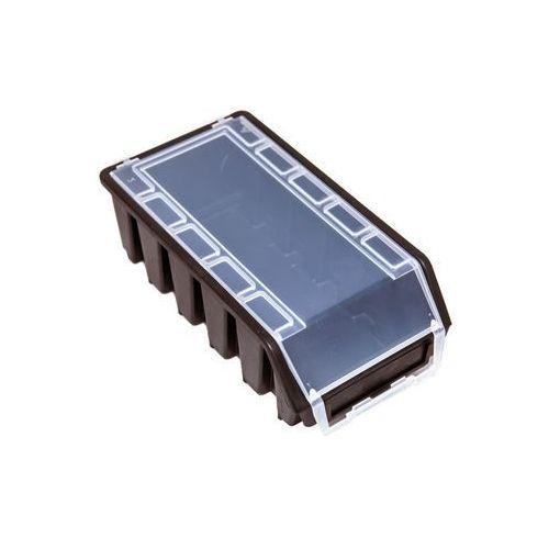 Pojemnik Magazynowy Warsztatowy Ergobox 2 czarny plus long Patrol, ERG2LPCZAPG001