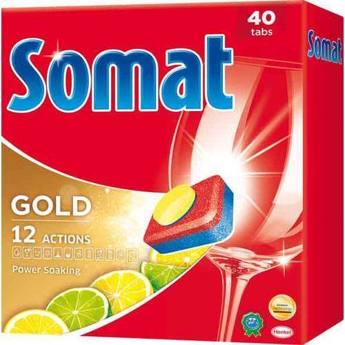 gold lemon & lime tabletki do zmywarki – 40 szt. marki Somat