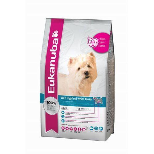 adult west highland white terrier 2,5kg marki Eukanuba