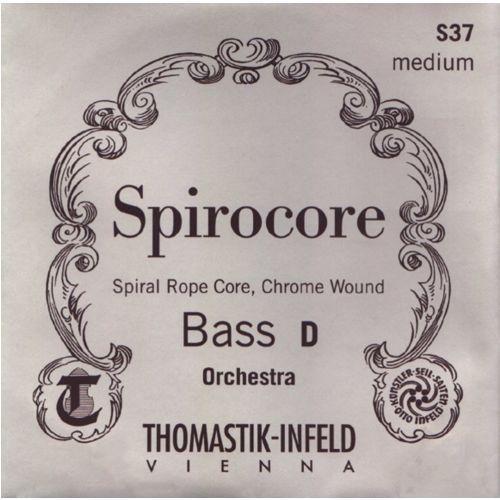 Thomastik (644219) struny do kontrabasu Spirocore Spiralny rdzeń - Set miękki - S42w