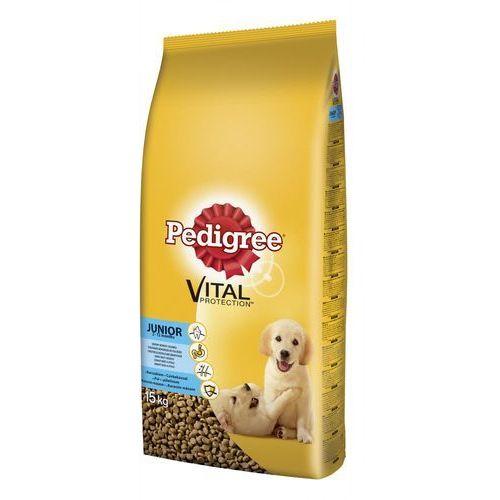 PEDIGREE Vital Protecion Junior średnie rasy kurczak 15 kg- RÓB ZAKUPY I ZBIERAJ PUNKTY PAYBACK - DARMOWA WYSYŁKA OD 99 ZŁ (9003579302897)