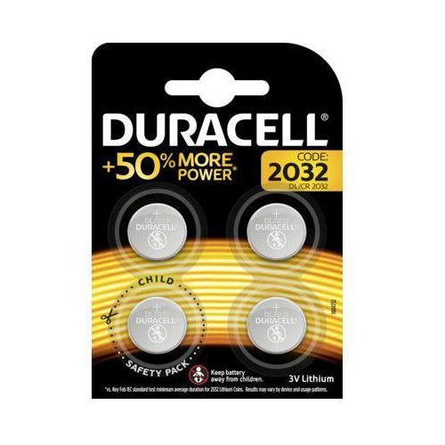 Duracell Baterie dl cr 2032 4szt.