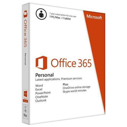 Microsoft Office 365 Personal Licencja Roczna 1 Stanowisko - produkt z kategorii- Programy biurowe i narzędziowe