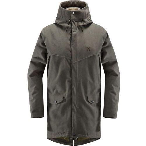 siljan kurtka mężczyźni oliwkowy xl 2018 kurtki codzienne marki Haglöfs