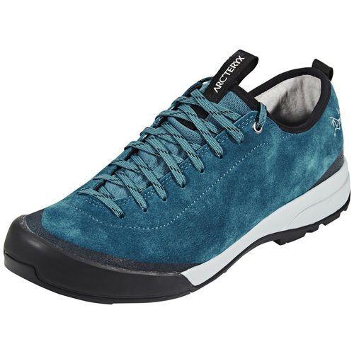 acrux sl leather buty mężczyźni niebieski 44 2/3 2018 buty podejściowe marki Arc'teryx
