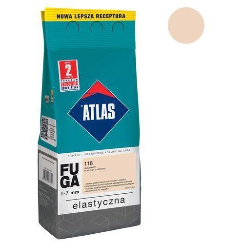 Atlas Fuga cementowa 118 jaśminowy 2 kg