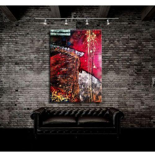 Abstrakcyjna mozaika - unikat autorstwa Sylwii Zakrockiej