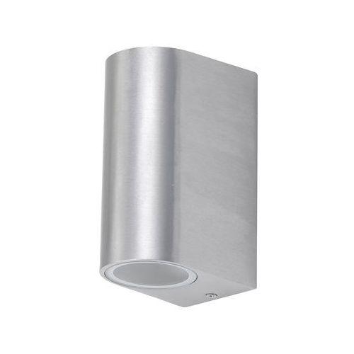 Rabalux Kinkiet zewnętrzny lampa ścienna chile 2x35w gu10 ip44 szczotkowane aluminium 8034 (5998250380346)