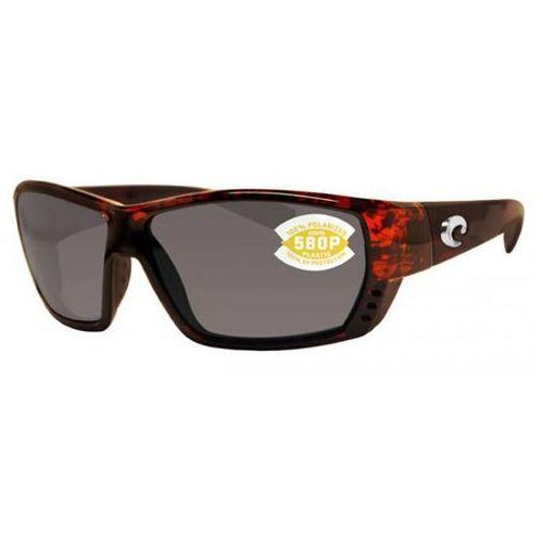 Okulary Słoneczne Costa Del Mar Tuna Alley Polarized TA 10GF OGGLP, kolor żółty