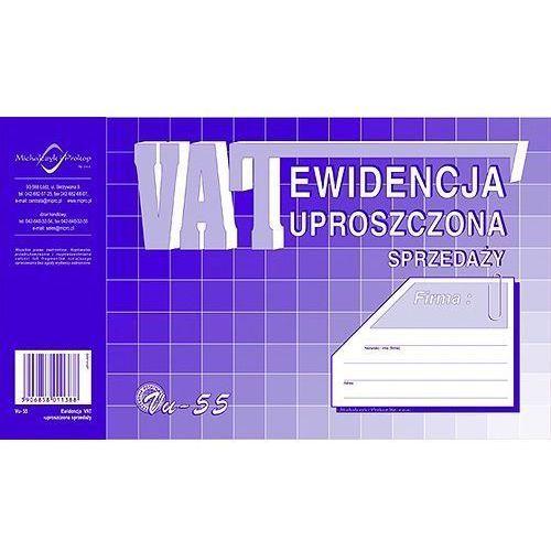 Ewidencja VAT sprzedaży A5 (uproszczona) (OFFSET) MICHALCZYK I PROKOP - X04740, NB-2374