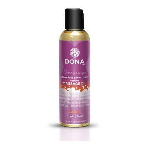 Dona Olejek do masażu nuru lomi lomi- scented massage oil 125 ml tropikalny