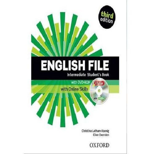 English File Third Edition Intermediate podręcznik + online skills (168 str.)
