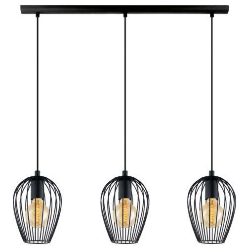 Lampa wisząca 3x60w newtown, 49478 marki Eglo