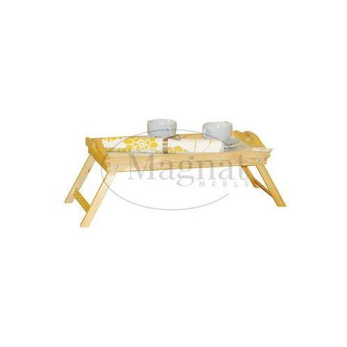 Taca śniadaniowa drewniana