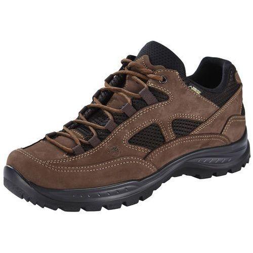 Hanwag gritstone wide gtx buty mężczyźni brązowy uk 8 | 42 2018 buty turystyczne