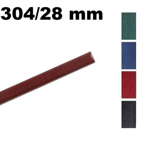 Opus Kanały o.channel classic 304 mm x 28 mm (do 260 kartek), bordowe, 10 sztuk - autoryzowana dystrybucja - szybka dostawa