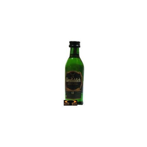 William grant & sons Whisky glenfiddich 12yo miniaturka 0,05l