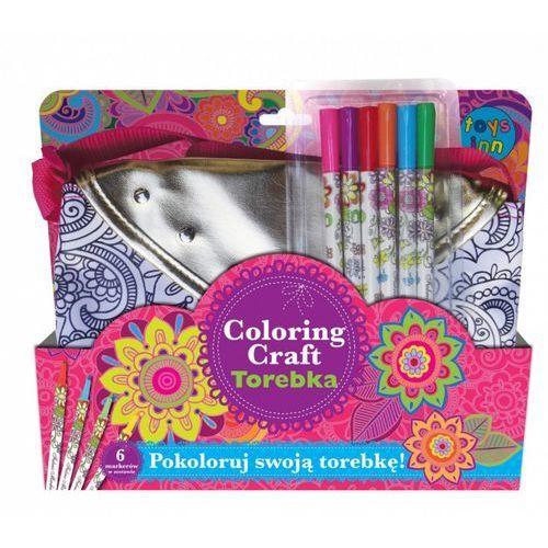 Coloring craft. torebka metaliczna kopertówka marki Stnux